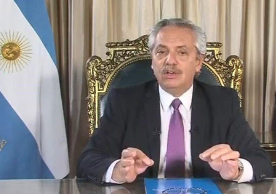 Alberto Fernández detalló en cadena nacional las medidas contra el coronavirus
