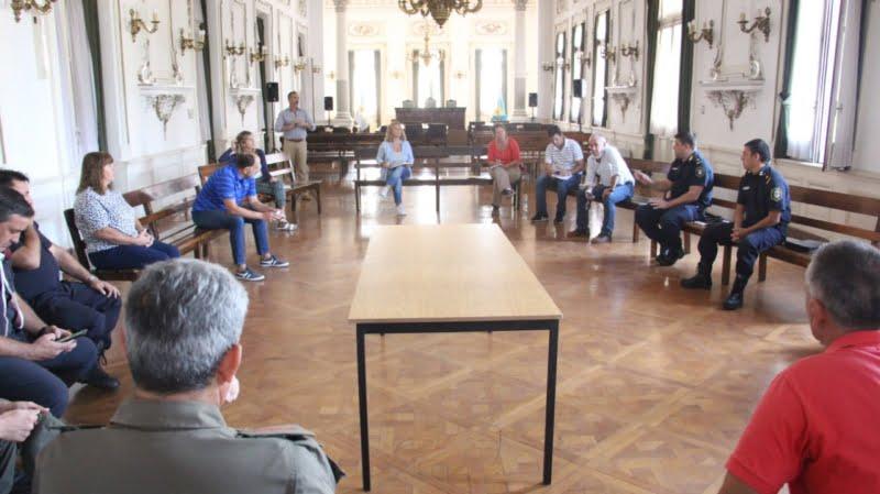Comité de crisis: abordaron diferentes temáticas preventivas por coronavirus