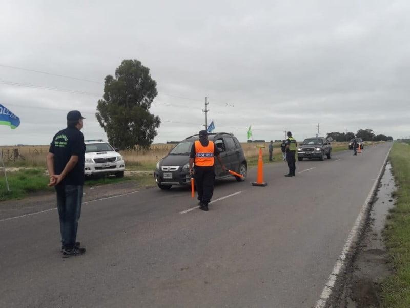 A las 8 comenzarán los controles policiales en accesos a las localidades balnearias