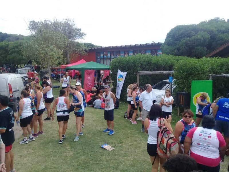 """Deportes promocionó """"Corré por el Hospi"""" en Necochea"""