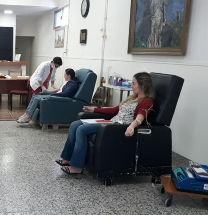 Satisfacción por la respuesta de la gente a la colecta de sangre