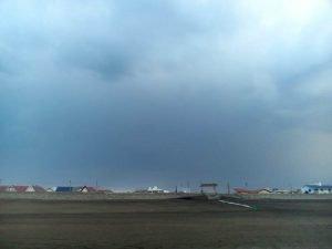 Llovió en Claromecó