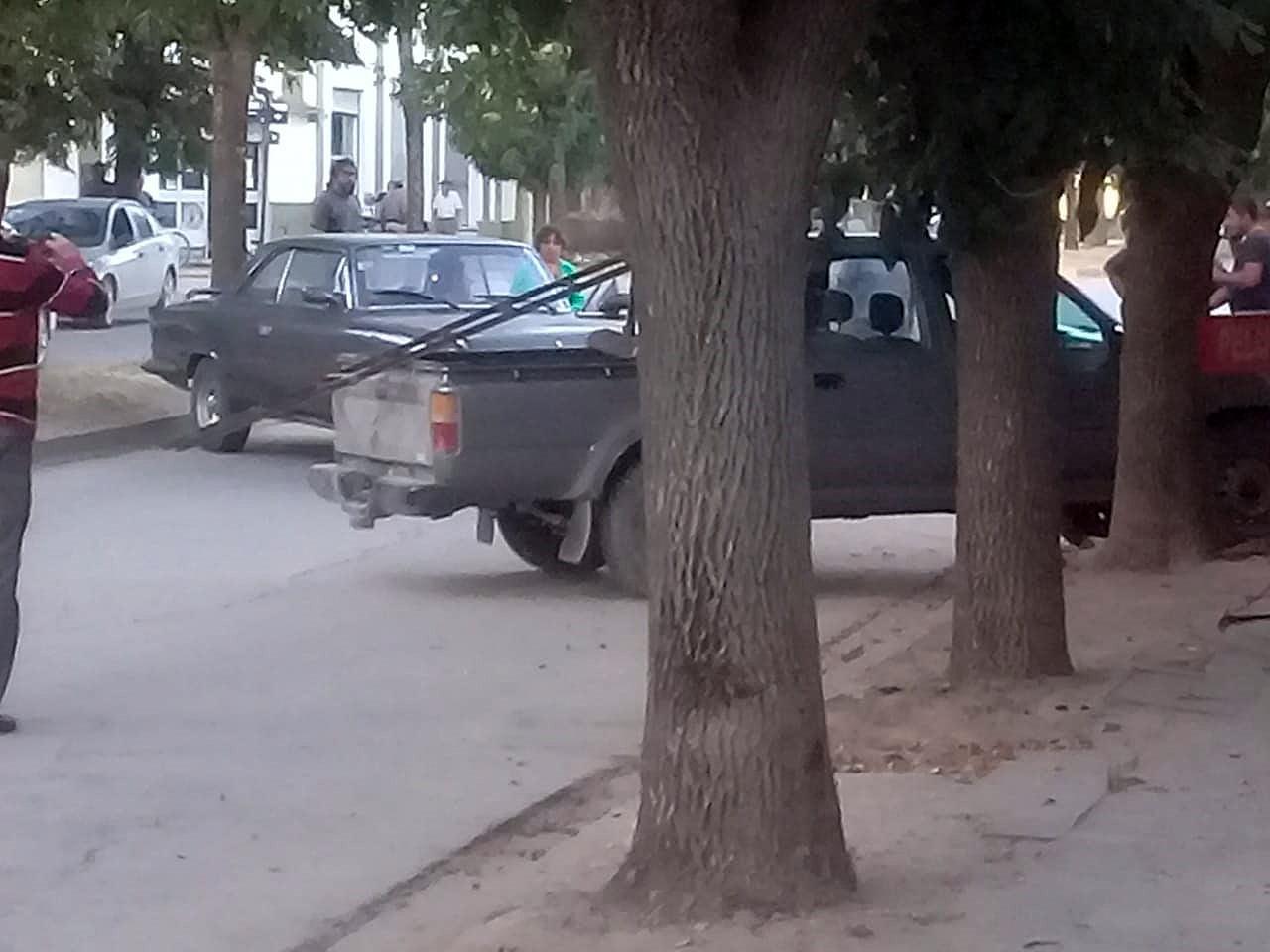 Accidente sin heridos en Orense