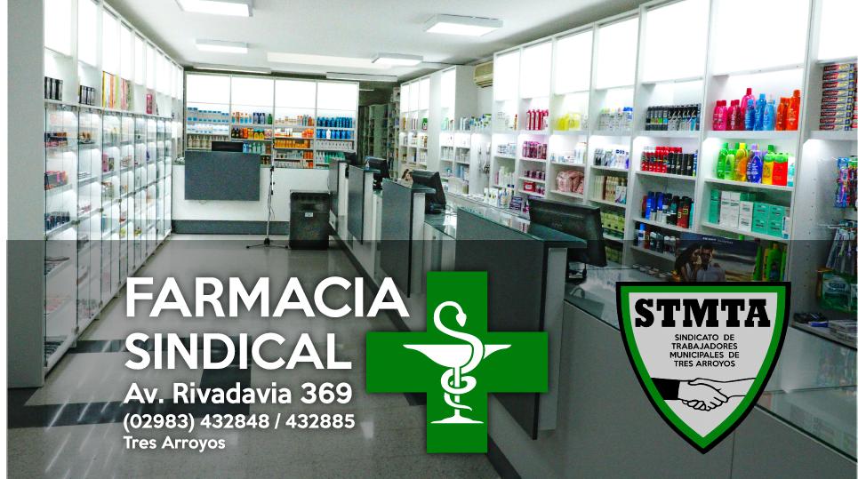 Horarios de Atención de la Farmacia y Sede Gremial del Sindicato de Trabajadores Municipales