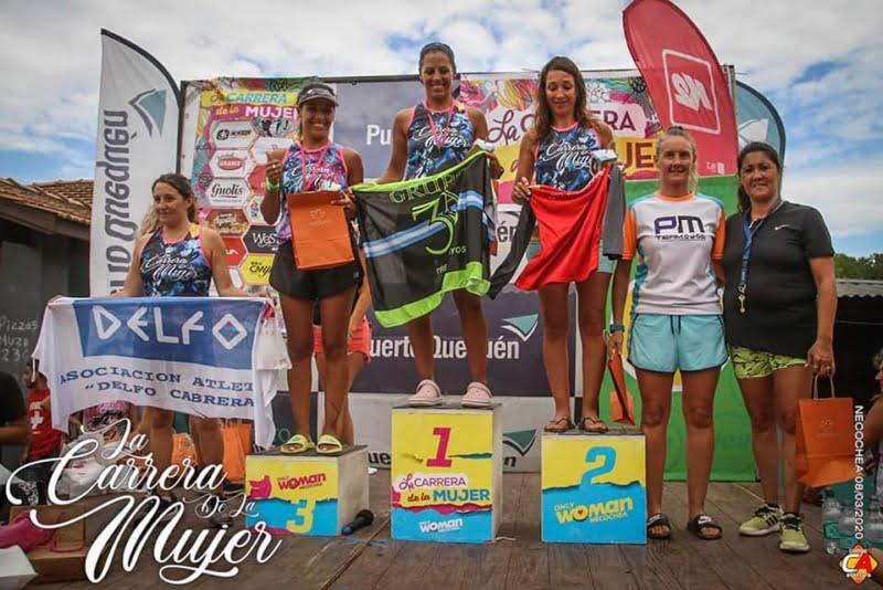 El grupo de running 3A participó en la Carrera de la Mujer