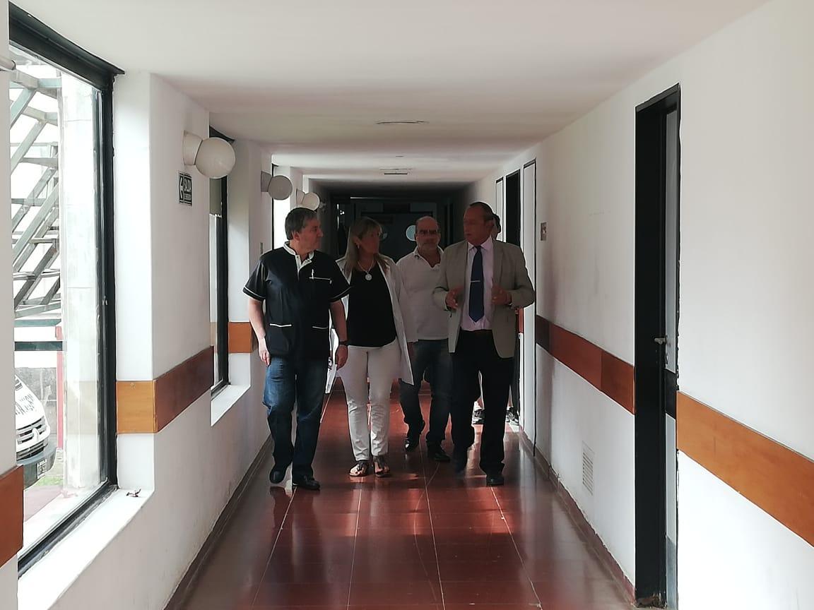 El Intendente recorrió el Hospital y se interiorizó del trabajo preventivo