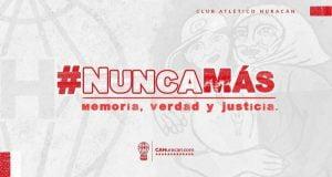 Día de la Memoria: Huracán recuerda a Carlos Rivada