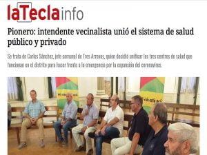 La Tecla destaca decisión de Sánchez de unir la salud pública y la privada
