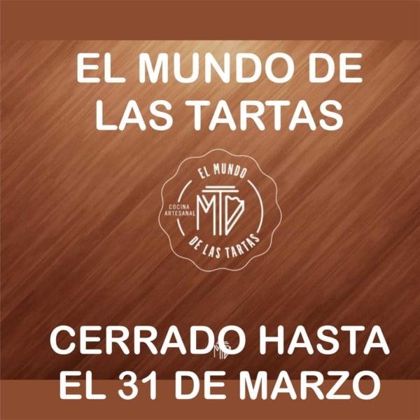 """""""El Mundo de las Tartas"""" permanecerá cerrado hasta el 31 de marzo"""