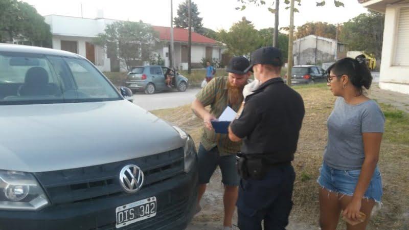 Claromecó: Detienen a una pareja por violar la cuarentena
