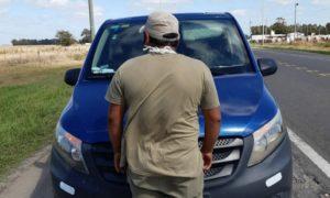Otro infraccionado en la ruta por vulnerar la cuarentena