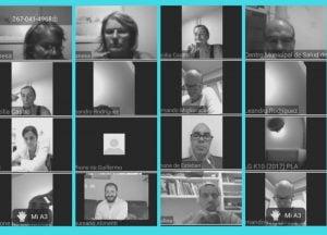 Secretarios de Salud local y del resto de la Región Sanitaria 1 se reunieron por videoconferencia
