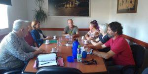 Monte Hermoso: Secretarios municipales se reunieron con vecinos de Sauce Grande