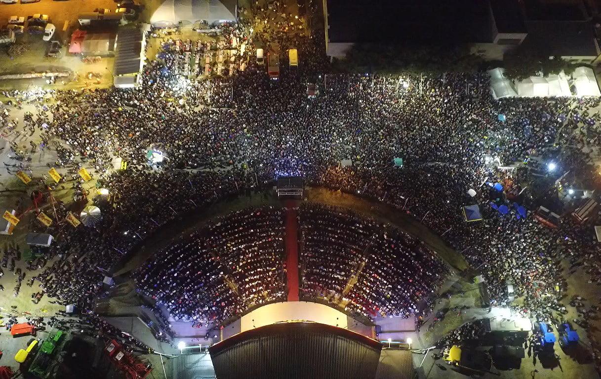 La Fiesta del Trigo explotó con el show de Lucas Sugo (video)