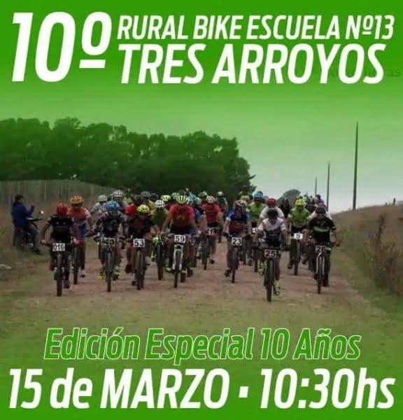 Reprograman la fecha del Rural Bike de la Escuela 13