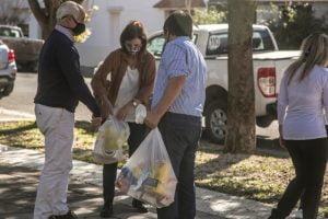 """""""Unidos por vos"""": Recaudaron 480 mil pesos y más de una tonelada de alimentos"""