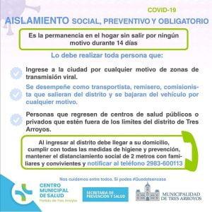 ¿Quiénes deben cumplir el Aislamiento Social, Preventivo y Obligatorio?