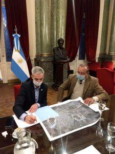 Proyecto ferroviario en el Parque Industrial fue bien recibido por el Ministro Meoni, dijo Sánchez