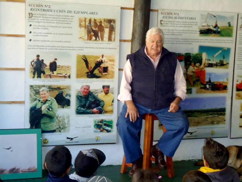 Falleció Fabián Ramallo, un amante de los cóndores