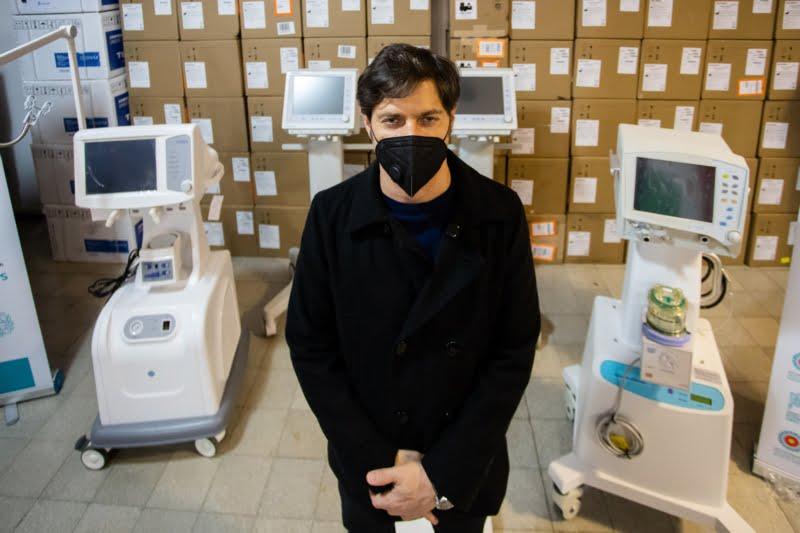 La Provincia entregó más de 170 nuevos respiradores a 42 municipios