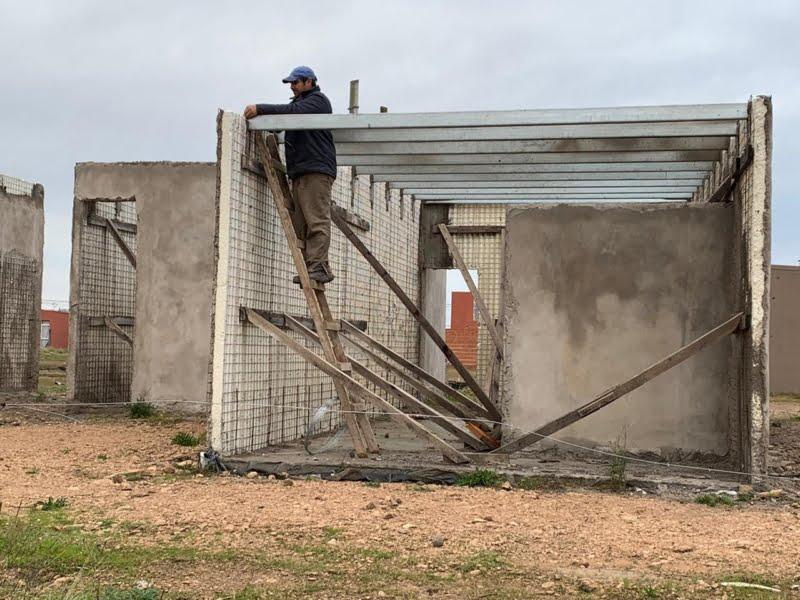La Municipalidad hará el relanzamiento de obra de 15 viviendas en Villa Italia (videos)