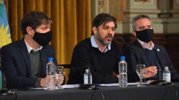"""Carlos Bianco: """"No está previsto mandar pacientes del Conurbano al interior"""""""