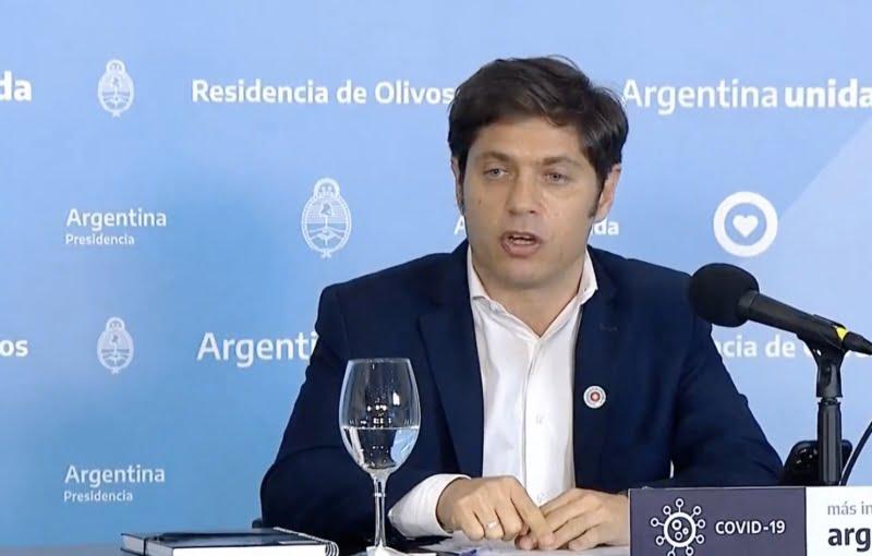 Kicillof anunció la implementación de un sistema de fases diferenciado para municipios