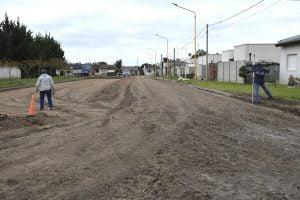 San Cayetano: comenzó un nuevo plan de pavimento urbano