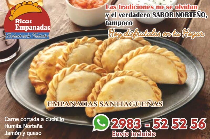 """Empanadas Santiagueñas"" de Sports Club"