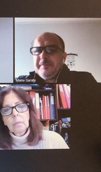 Garate realiza encuentros virtuales con autoridades de escuelas bonaerenses