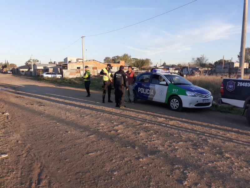Se cumplió el operativo de la Policía en barrios tresarroyenses (Videos)