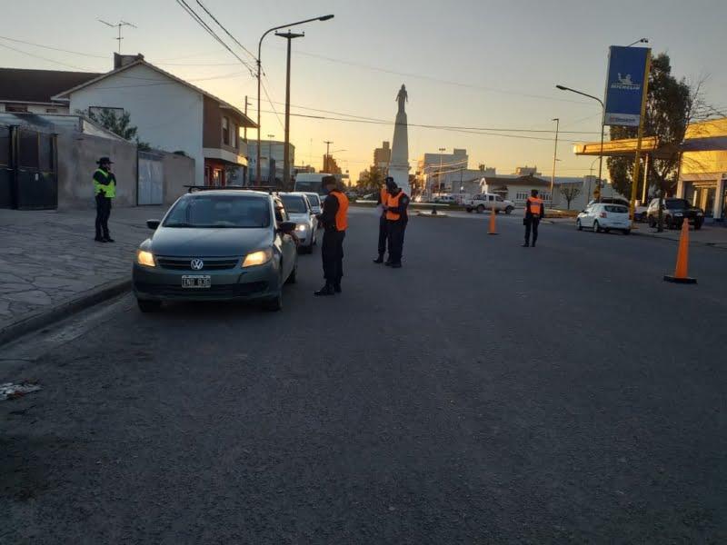 El operativo policial se desarrolló con normalidad: secuestran motos y vehículos