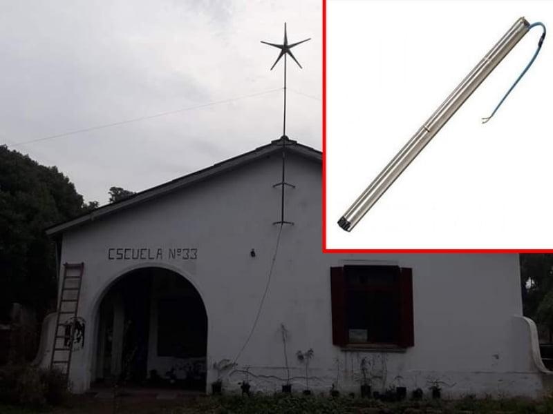 No hay novedades sobre el robo de una bomba sumergible en la Escuela Agrícola