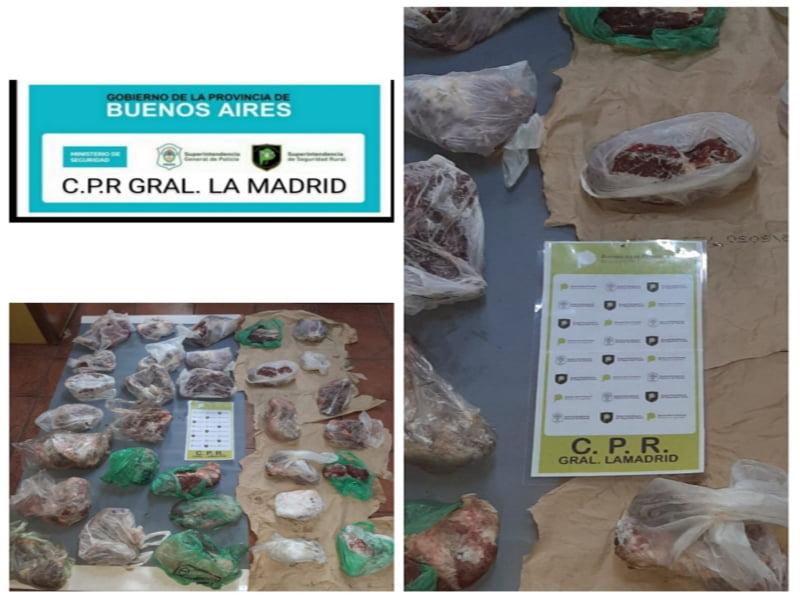 Abigeato en La Madrid: secuestran cortes vacunos en La Colina