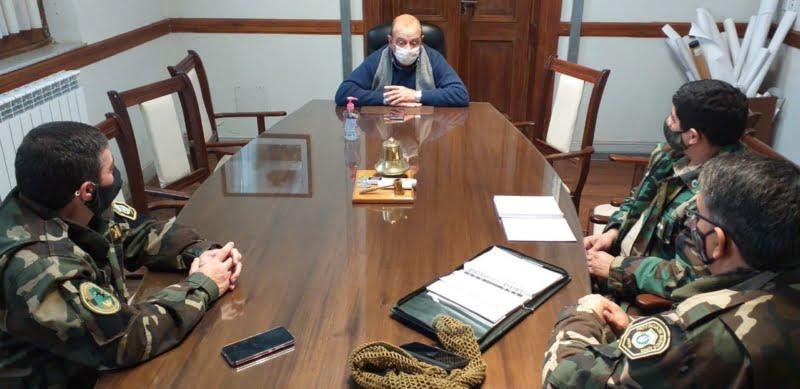Sánchez se reunió con funcionarios locales del CPR