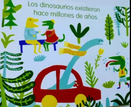"""Llega """"Dinosaurios"""" al cuento de la semana del CIIE (video)"""