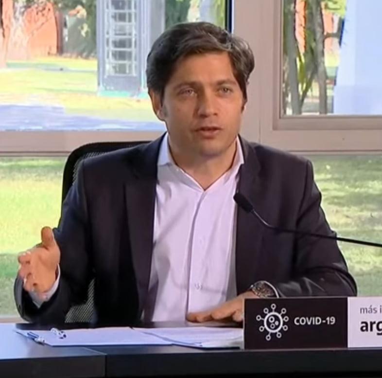 """Kicillof: """"En la provincia tenemos un sistema de fases que está funcionando muy bien"""""""