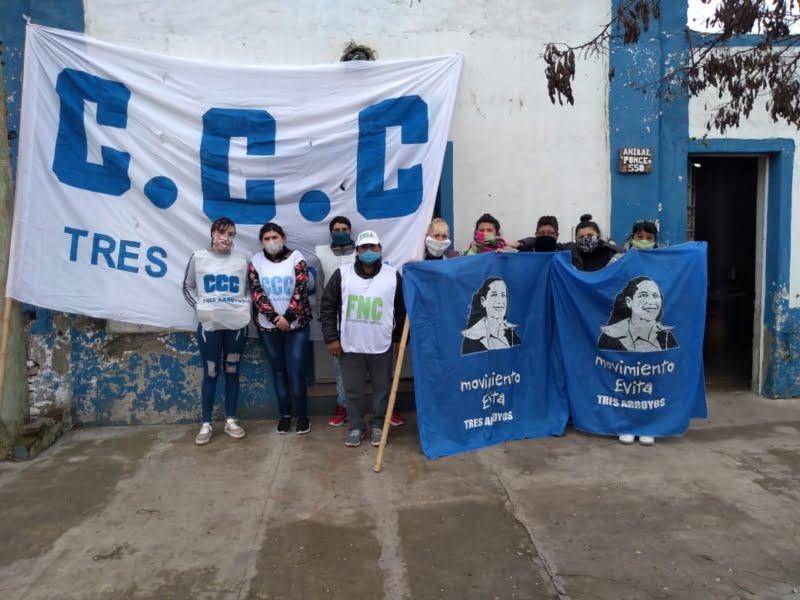 """""""Vicentin para el pueblo"""": Olla popular en Tres Arroyos"""