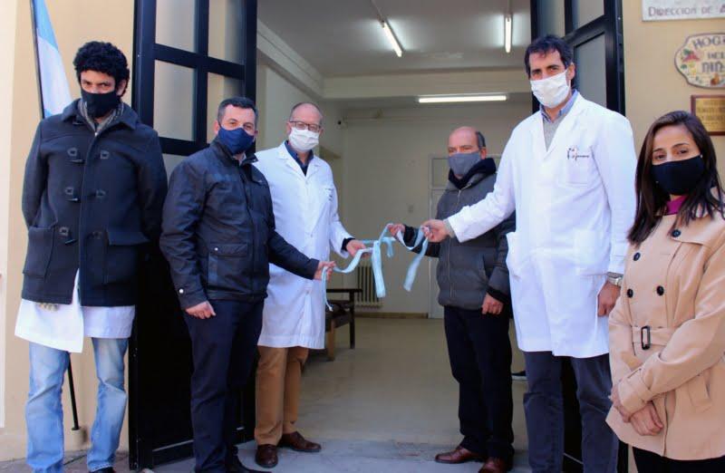 Kicillof participó de la inauguración de obras Hospital Municipal de Coronel Suárez