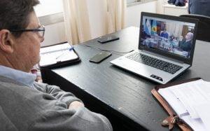 San Cayetano: Gargaglione participó de una videoconferencia con el Gobernador Kicillof