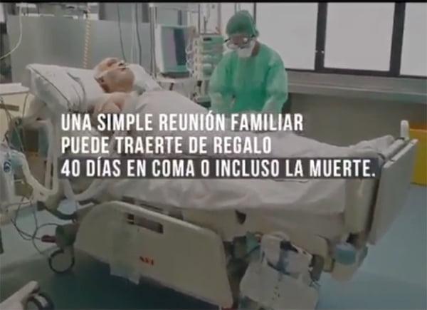 Video: en España advierten sobre las consecuencias que pueden tener las reuniones familiares