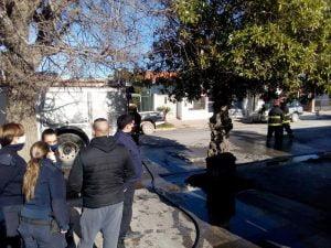 Claromecó: sofocaron incendio en la casa de la familia Burgueño