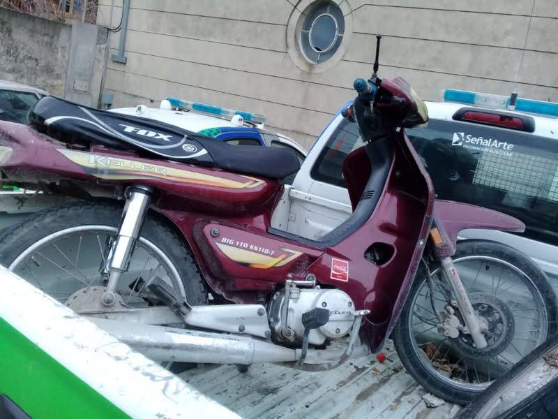 Operativos: secuestran moto que había sido denunciada como hurtada
