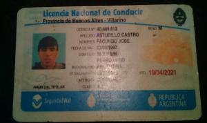 La última foto de Facundo Castro antes de su desaparición