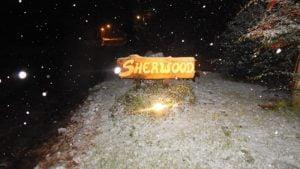 Importante nevada en Villa Ventana y alrededores