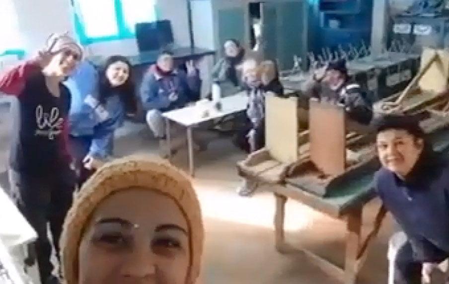 El Movimiento Evita culminó los trabajos realizados en escuelas de la ciudad (video)