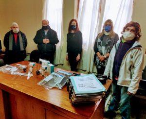 Rotary entregó donaciones al Hospital Pirovano