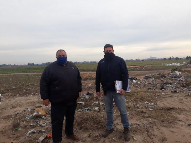 Desde la Planta de Reciclado aclaran que no se realiza ninguna quema en el predio (video)
