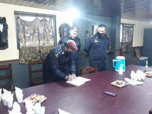 Gustavo Demaría ya está al frente del Escuadrón de Caballería
