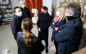 Kicillof entregó nuevos respiradores para San Cayetano